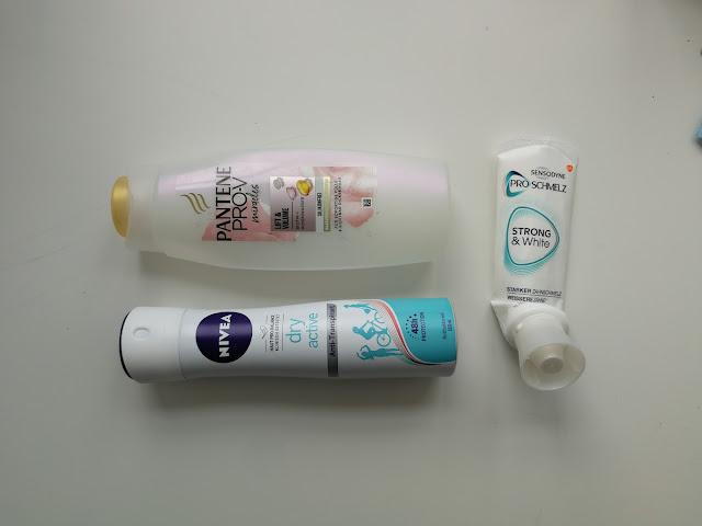 Pantene šampon nivea dezodorans sensodyne strong&white