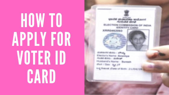 How to apply for voter id