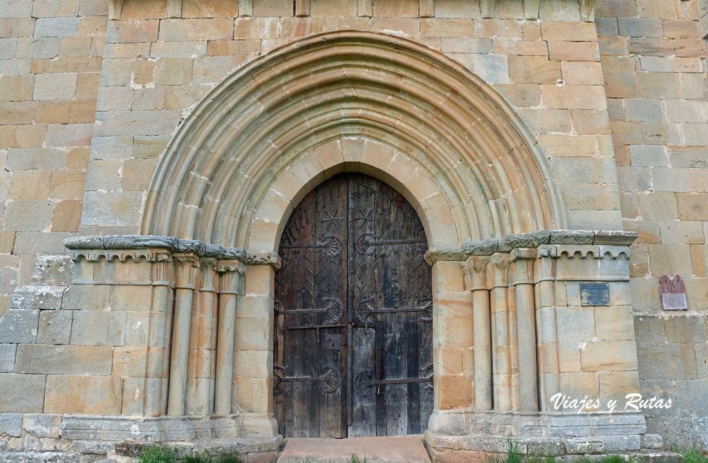 Portada de la Ermita de Santa Eulalia, Barrio de Santa María