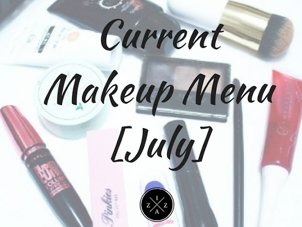 Current Makeup Menu July