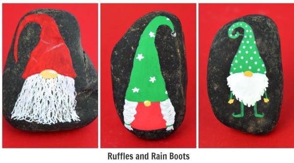 25 Christmas Rock Painting Ideas I Love Painted Rocks