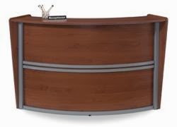 OFM 55290 Curved Front Reception Desk