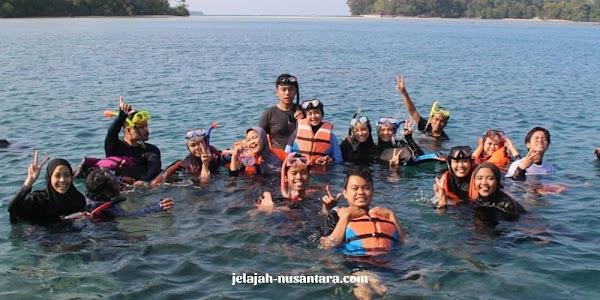 aktivitas wisata private trip pulau harapan