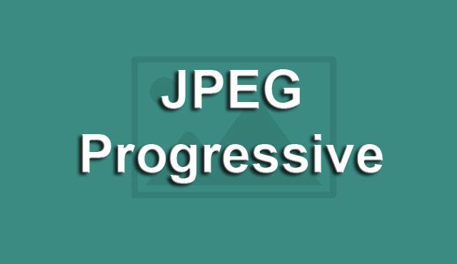 JPEG Progressive