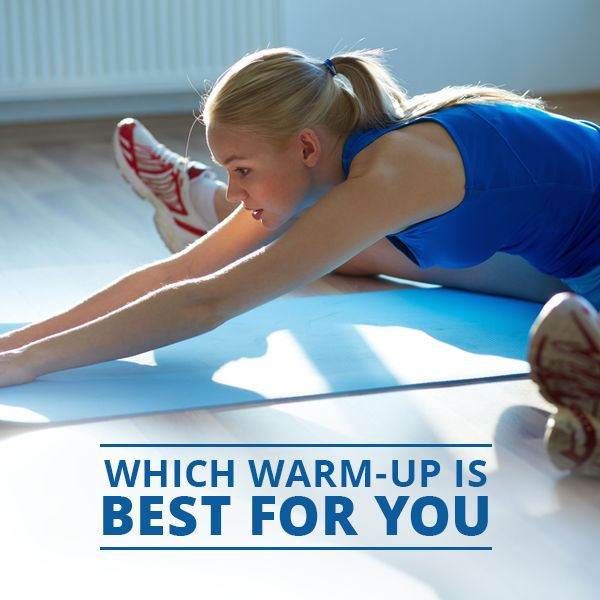 Which Warm Up is Best For You?