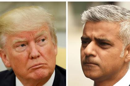 Walikota London Tegaskan Tak Peduli dengan Cuitan Trump