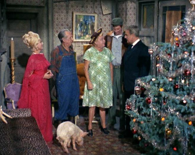 Christmas Tv History Green Acres Christmas 1966