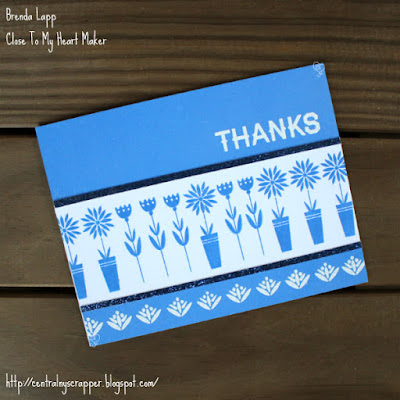 card created with Scandinavian Folk Art