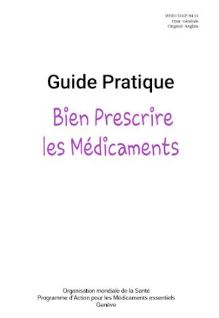 Guide pratique bien prescrire les médicaments .pdf