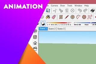 Cara lengkap membuat animasi di dalam SketchUp