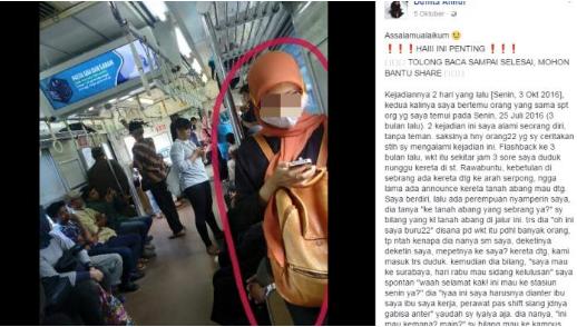 Akun Ini Tulis Pengalaman Bertemu Wanita di Kereta, Pura-pura Ketinggalan Dompet dan Pinjam Uang, Ternyata..