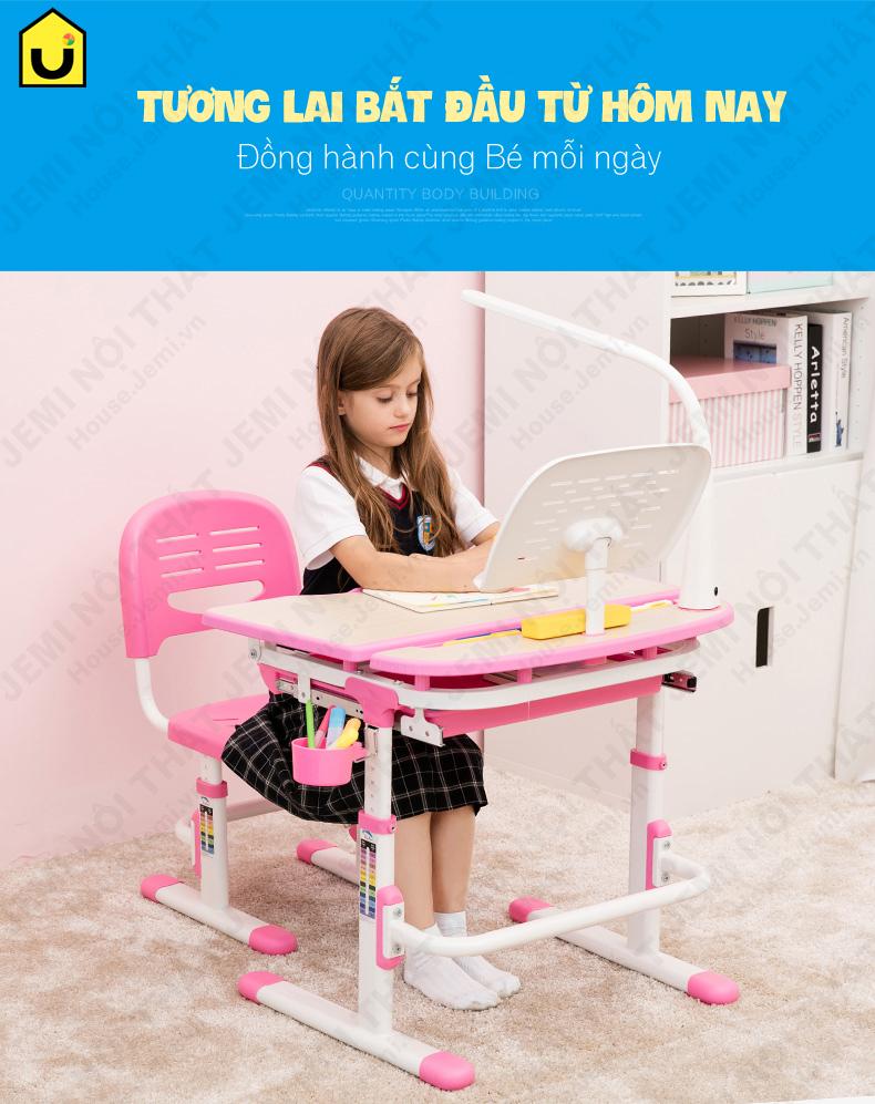 bàn học cho bé đồng hành cùng bé mỗi ngày