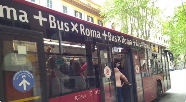 L'affollamento delle linee bus a Roma: i dati