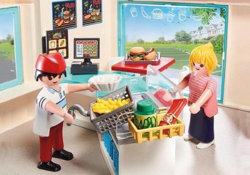 Playmobil fast food resraurant