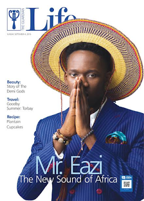 Guardian Life Magazine covers Africa's own Mr Eazi (see photo)