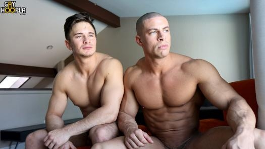HOT Muscle FUCK Zach Douglas and Sean Costin