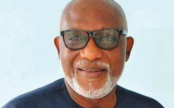 I will defeat all my opponents, Akeredolu boasts