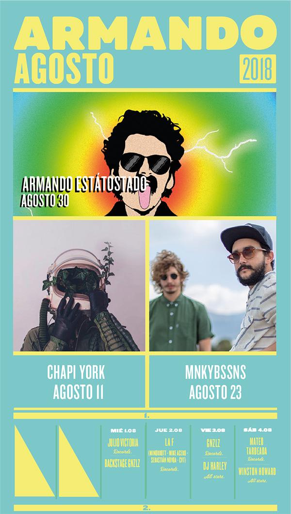 Agosto-Armando-Récords