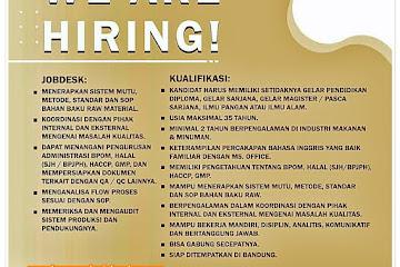 Loker Bandung Karyawan Palm Sugar Bandung