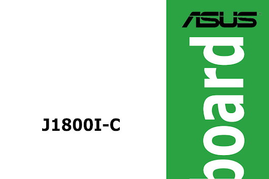 ASUS J1800I-C Manual | Download Manual Pdf