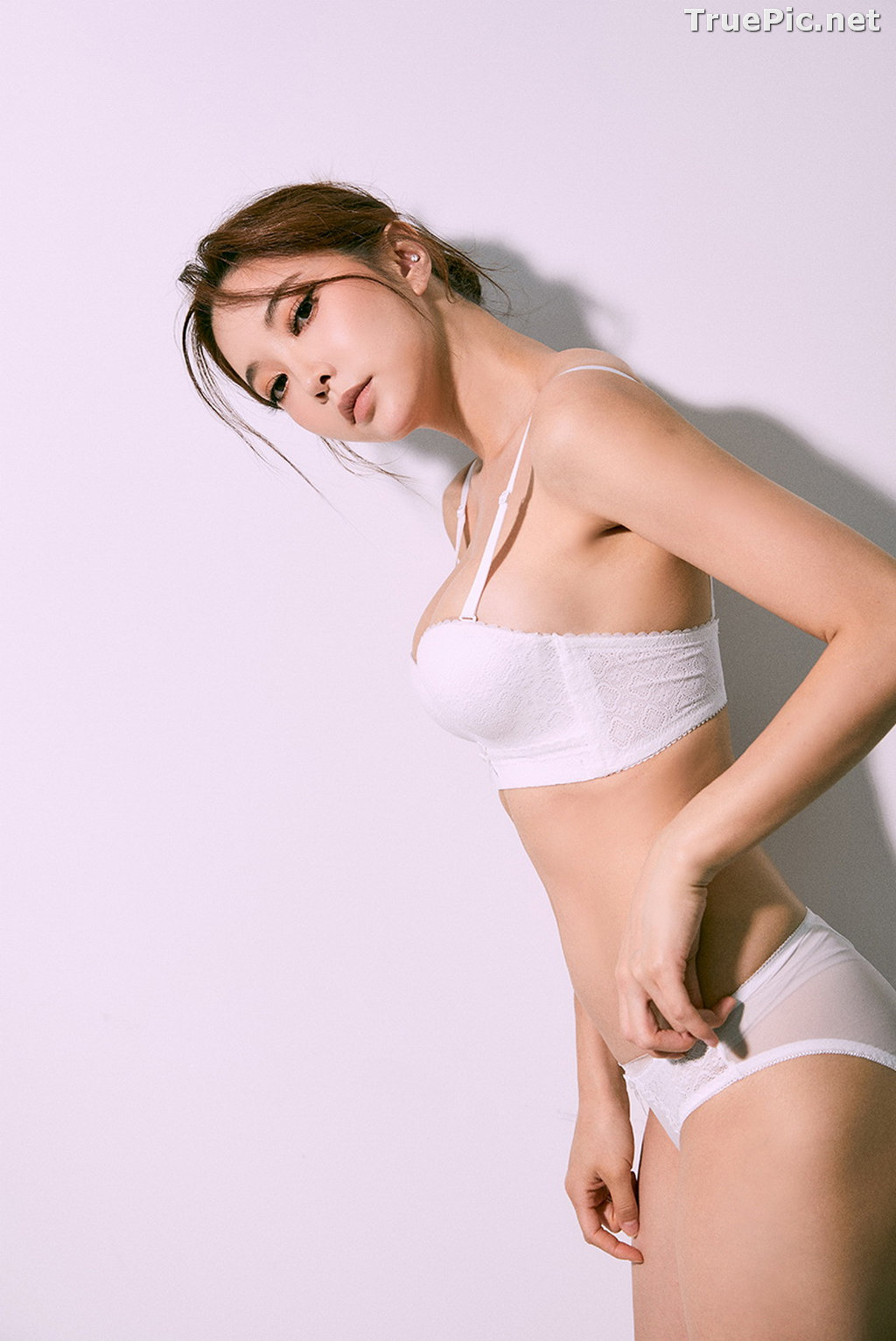 Image Korean Fashion Model - Park Soo Yeon - Open Up Lingerie - TruePic.net - Picture-7