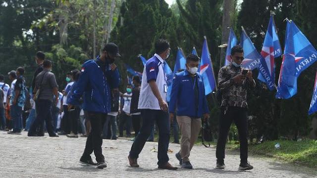 Polisi Akui Datangi Kader Demokrat di Kalbar: Jaga Kamtibmas