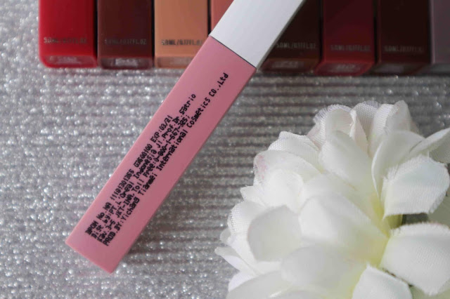 Maybelline superstay matte ink review