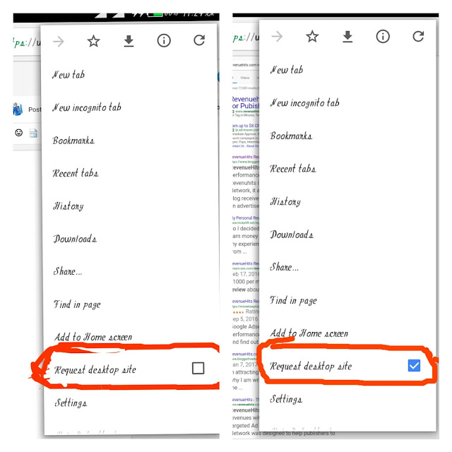 How To Request For Desktop Version Of Website On Android Device