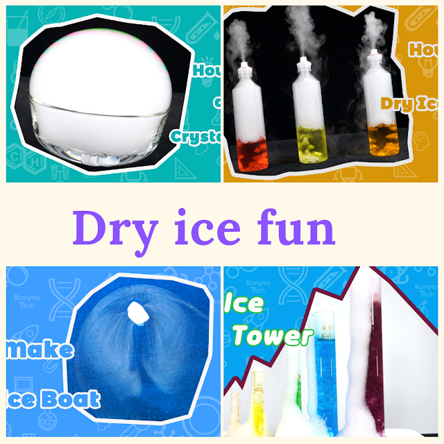 Cool dry ice experiments