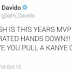 Lol...See Davido's advice to Olamide months ago...