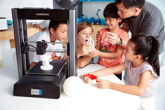 Makeblock Releasing 3D Printer mCreate Worldwide for STEAM Education, Smart Leveling for Accurate Printing