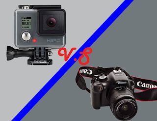 perbandingan gopro vs dslr