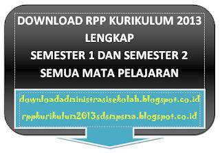 RPP Bahasa Inggris Kelas 7 Kurikulum 2013 Semester 1 dan 2