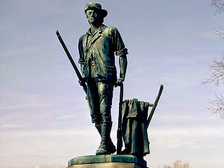 How did Minutemen get their band name - Minute-Man-Statue