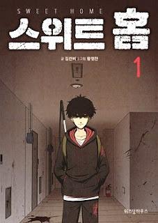 Manhwa Sweet Home, anime webtoon, netflix, Sinopsis Manhwa Sweet Home, rekomendasi manhwa terbaik, baca komik korea