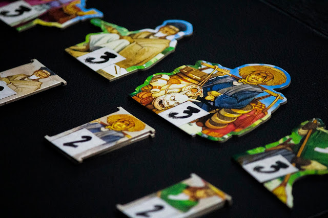 The One Hundred Torii board game review; photo by Benjamin Kocher 2020