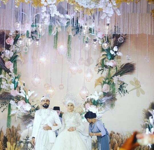 gambar kahwin yuna dan adam