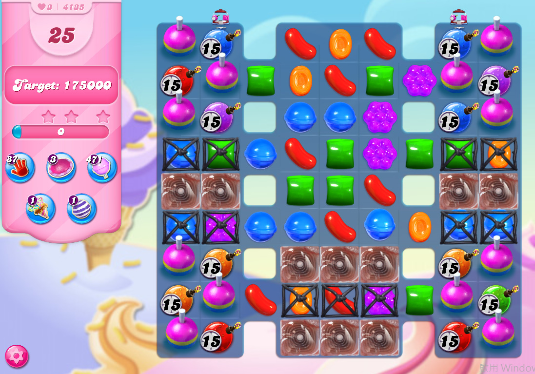 Candy Crush Saga level 4135