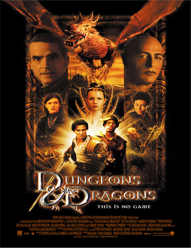 Ver Calabozos y dragones (Dungeons and Dragons) (2000) Online