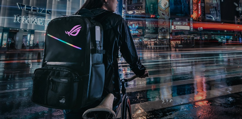 GAME ON WITH THE LATEST ROG BACKPACKS