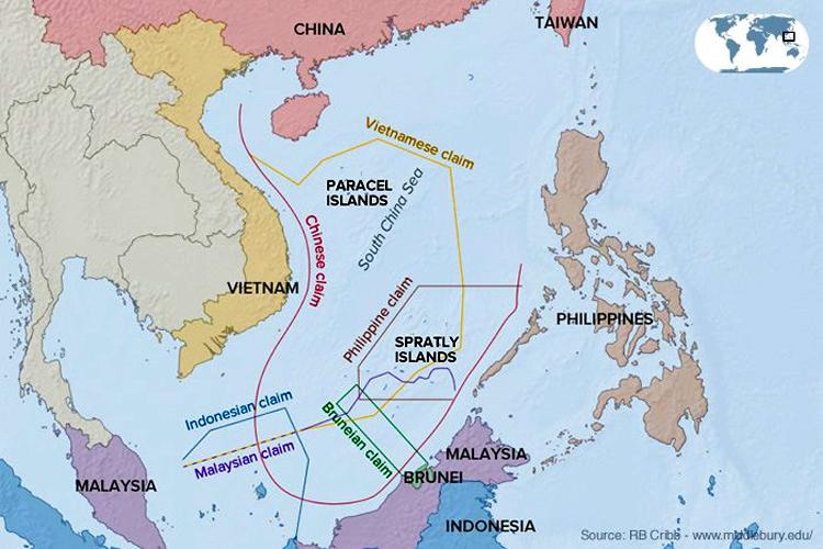 Kawasan laut China selatan