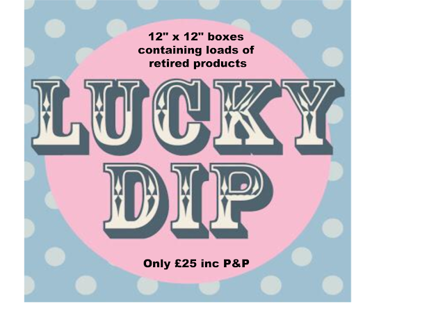 Paper Daisy Lucky Dip boxes Stampin Up