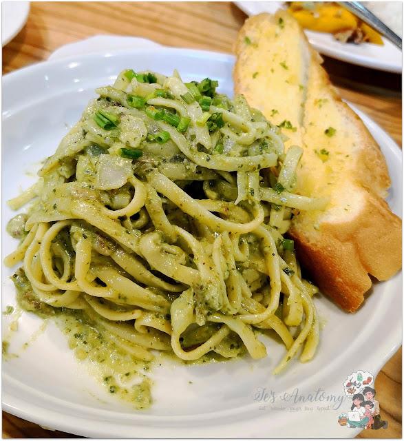 Ka Tunyings Cafe NAIA3 Daing Pesto Pasta