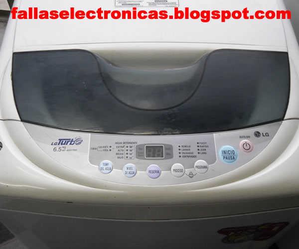 Lavadora lg c digo error de diagrama wf 6501tpp for Funcion de la lavadora