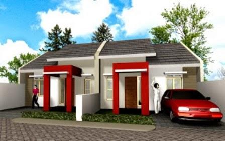 Variasi Cat Rumah Minimalis Warna Merah