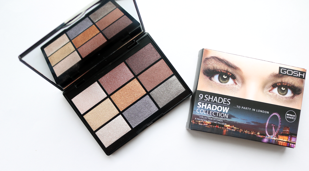 GOSH 9 Shades Eyeshadow Palette in To Party In London
