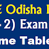 CHSE Odisha Time Table 2020 Direct Download Link