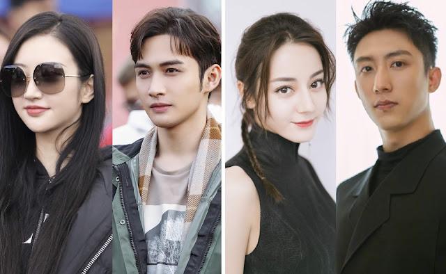 new dramas dilireba vin zhang