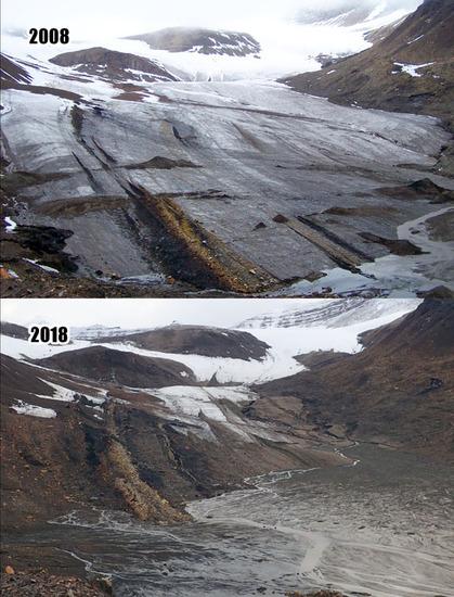 Spitsbergen lodowce