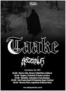 TAAKE + AETERNUS en Colombia